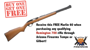 Buy a Rifle, Get a Rifle FREE!
