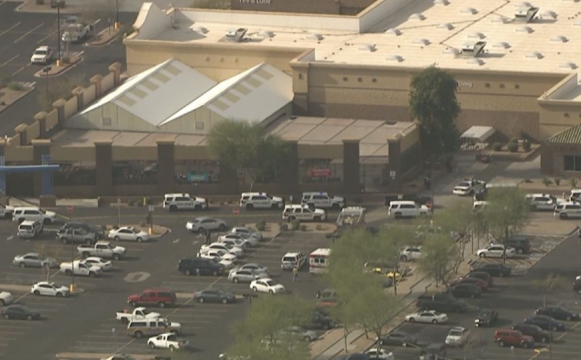 Two people shot Wednesday at Glendale Walmart; suspect on the run