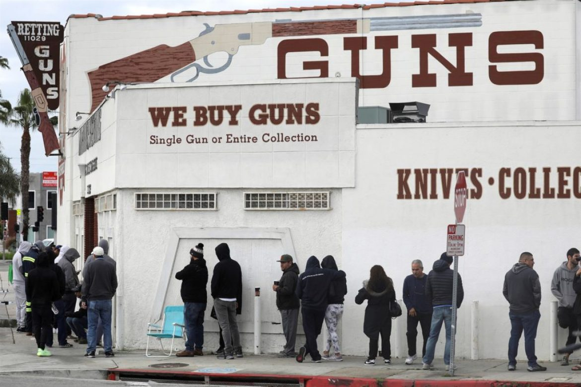 Pandemic Pushes All Time High Gun Sales